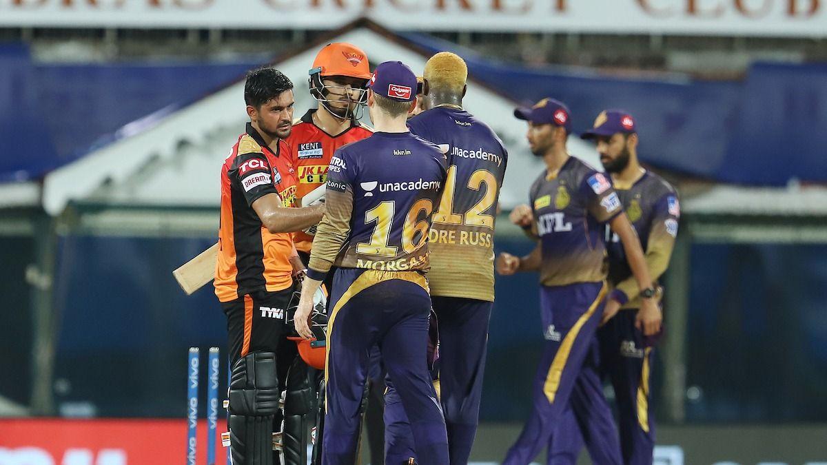 IPL 2021: KKR Beat SRH by 10 Runs
