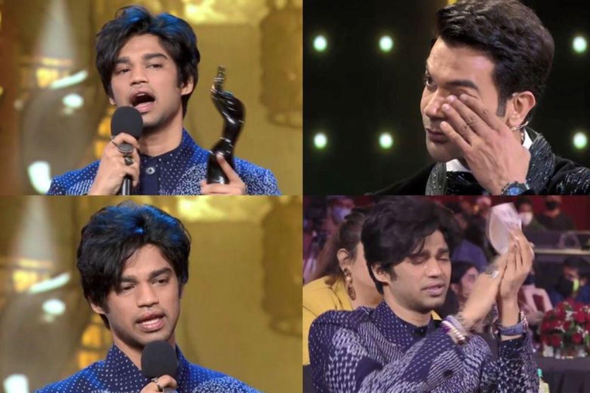 Irrfan Khan's Son Babil Khan Tears up During Emotional Speech at Filmfare Awards, Watch Touching Video
