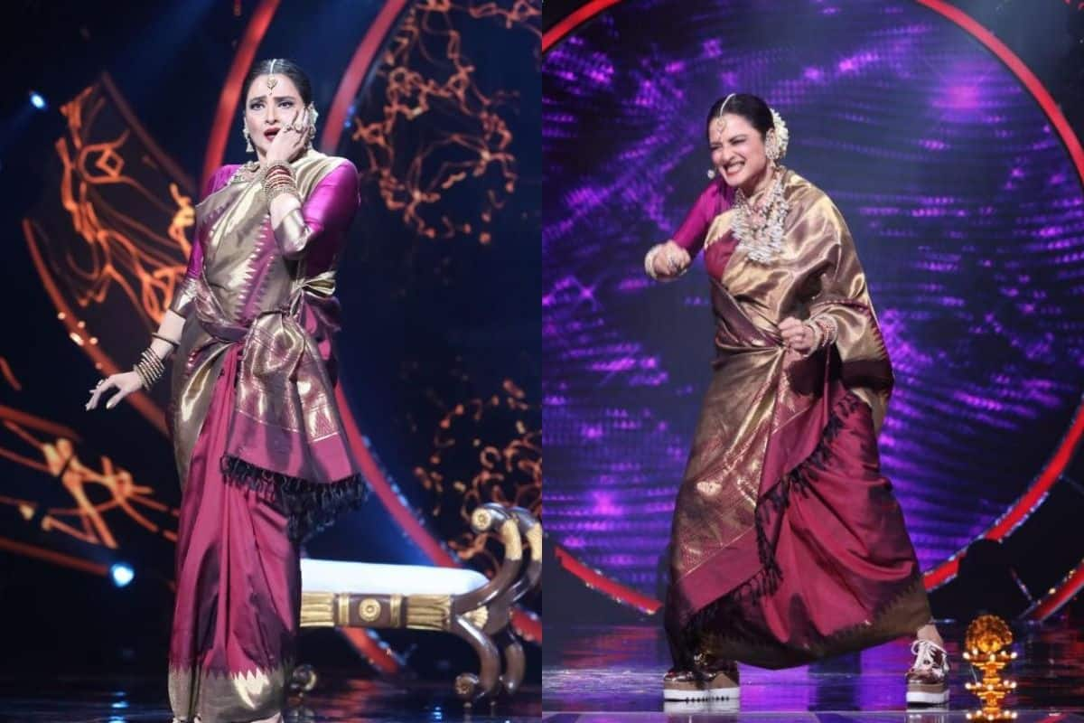 Netizens Are Left in Awe As Rekha Graces The Show, Call Her