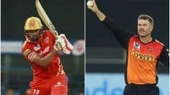 SRH vs PBKS Live Streaming VIVO IPL 2021, Match 37: When And Where to Watch Online and on TV