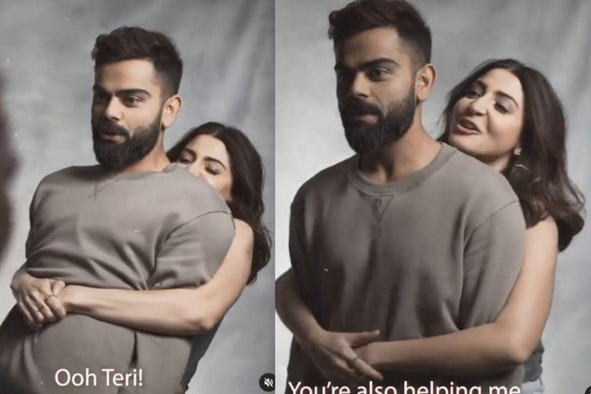 Oh Teri! Anushka Sharma Surprises Virat Kohli by Literally Lifting Him