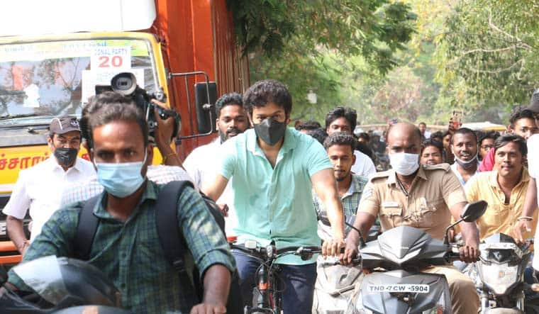 Why Did Thalapathy Vijay Ride a Cycle to Polling Booth