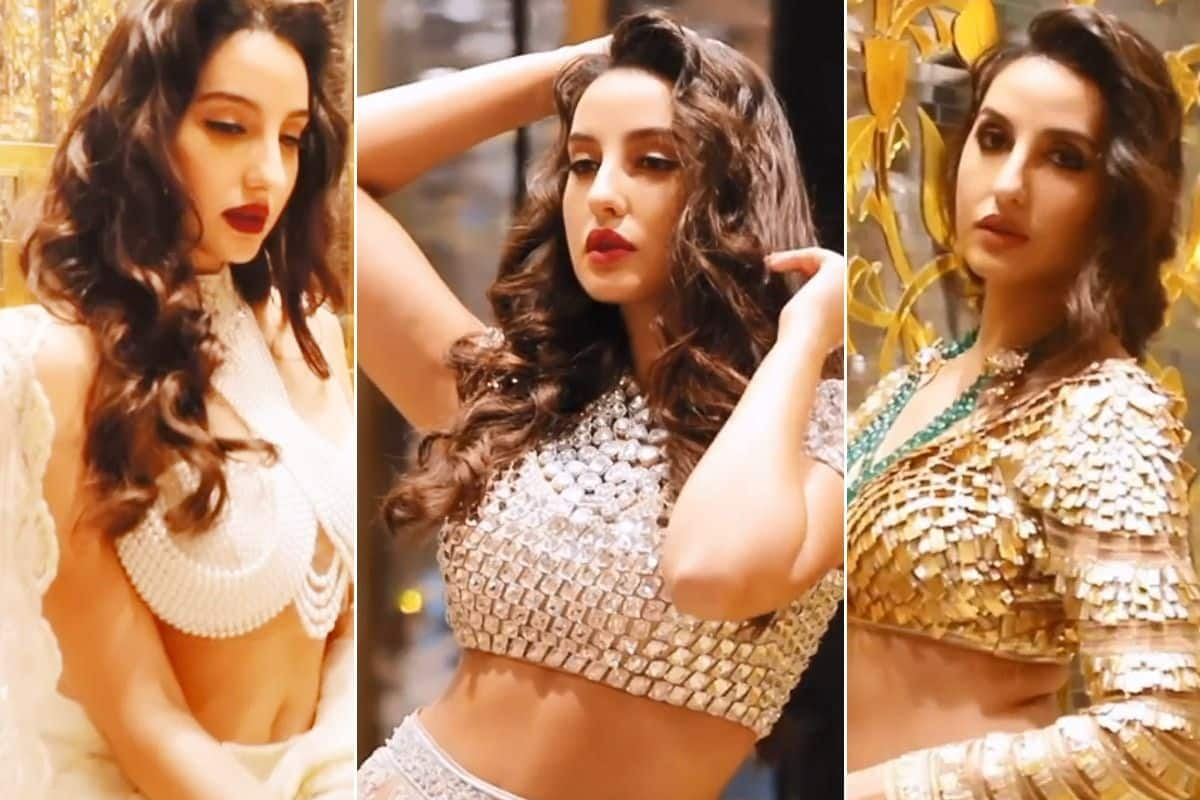 Nora Fatehi Burns Instagram With Her Enchanting Traditional Looks, Fans Go Crazy