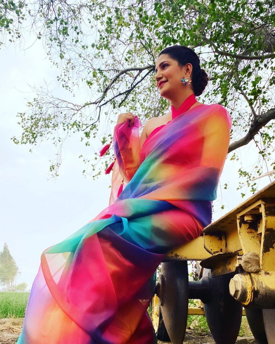 Sapna Choudhary Latest Photo Shoot  15