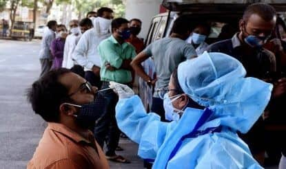 India Witnesses Sharp Drop in COVID Cases, Records 3.66 Lakh New Cases & 3,754 Deaths In Last 24 Hours