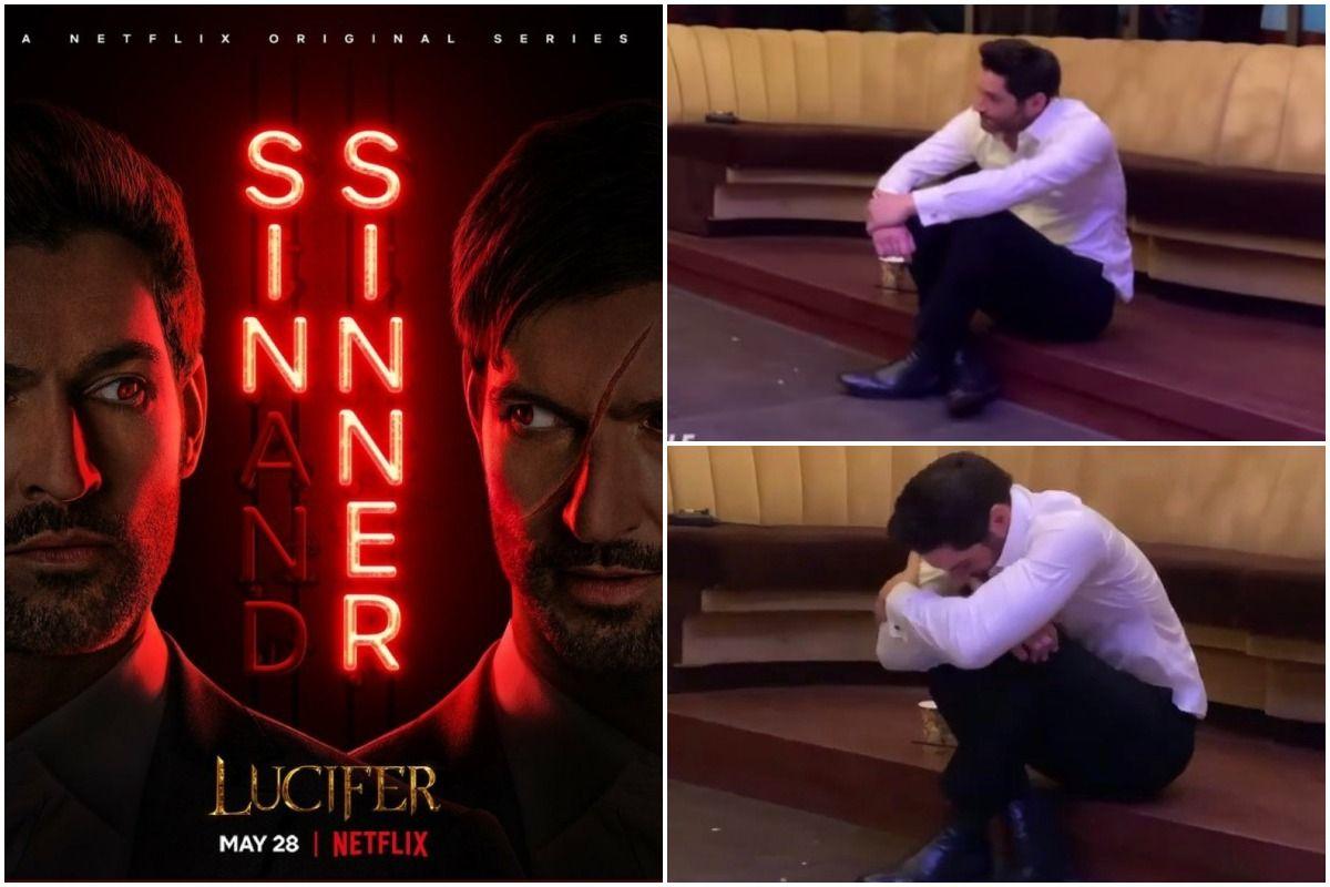 Lucifer Tom Ellis Gets Emotional In Wrap Party Ahead of Final Season Premiere