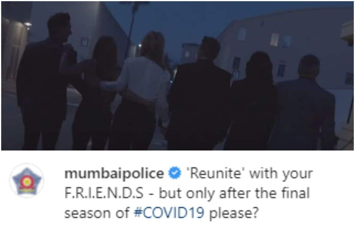 FRIENDS Reunion Special Teaser Features In Mumbai Police COVID 19 Awareness Advisory