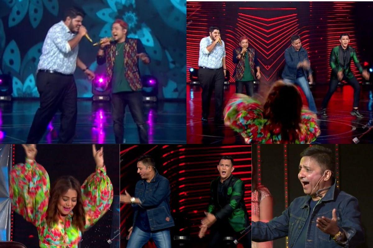 Indian Idol – Pawandeep Rajan-Ashish Energetic Duet Compels Neha Kakkar, Sukhwinder To Tap Their Feet