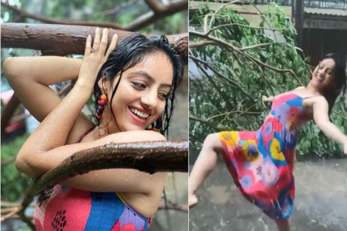 Diya Aur Baati Hum Fame Deepika Singh Responds To Trolls On Dancing Amid Cyclone Video