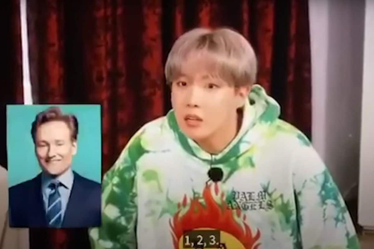 BTS' J-Hope Apologises To Talk Show Host Conan O'Brien After Calling Him a 'Curtain'