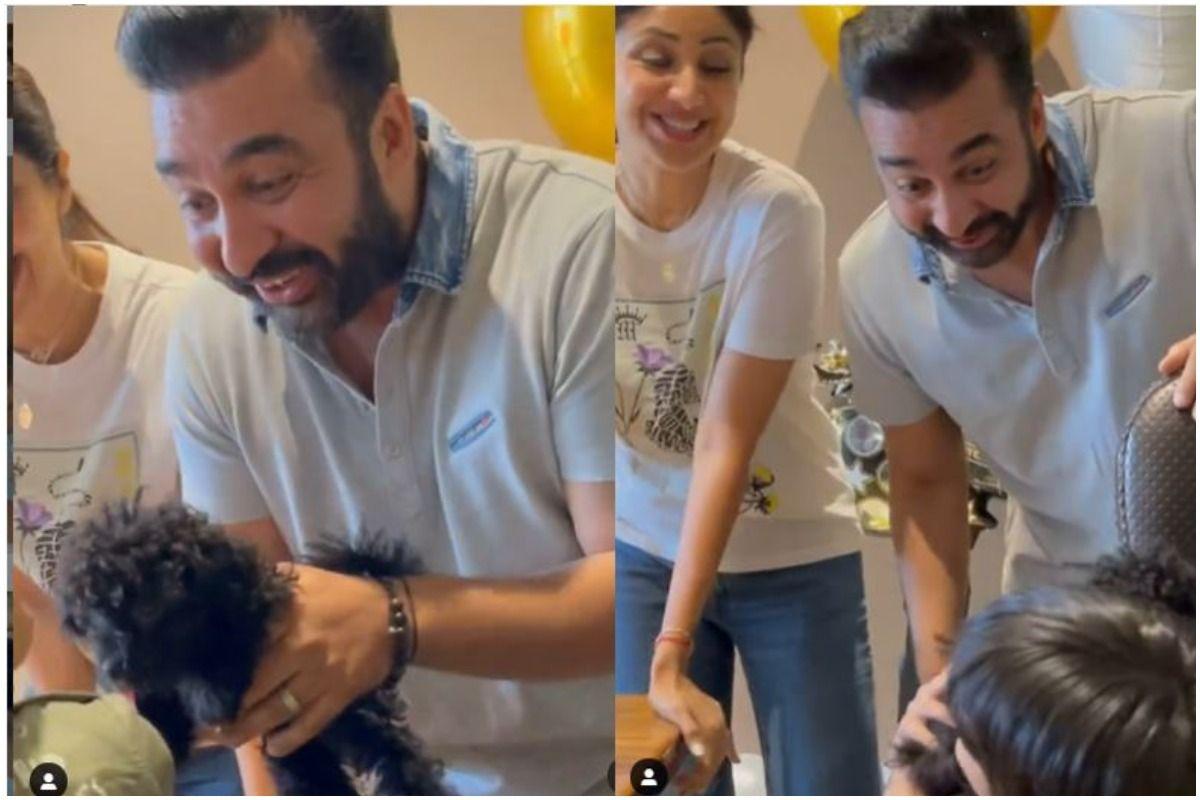 Shilpa Shetty-Raj Kundra Introduce Fans to New Family Member on Son Viaan Birthday