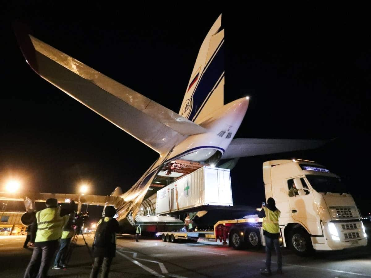 World s largest cargo plane
