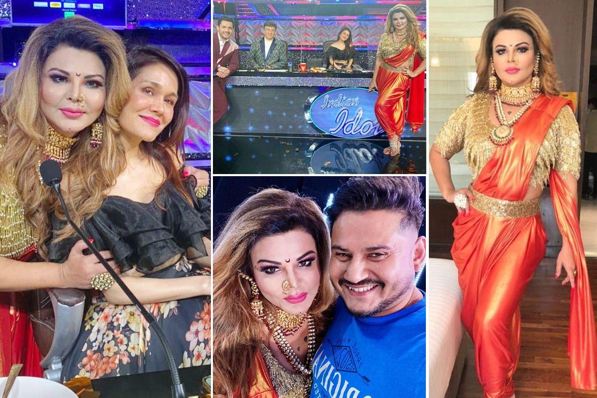 Rakhi Sawant Shares Picture With Sonu Kakkar, Anu Malik, Aditya Narayan, Fans Are Super Excited