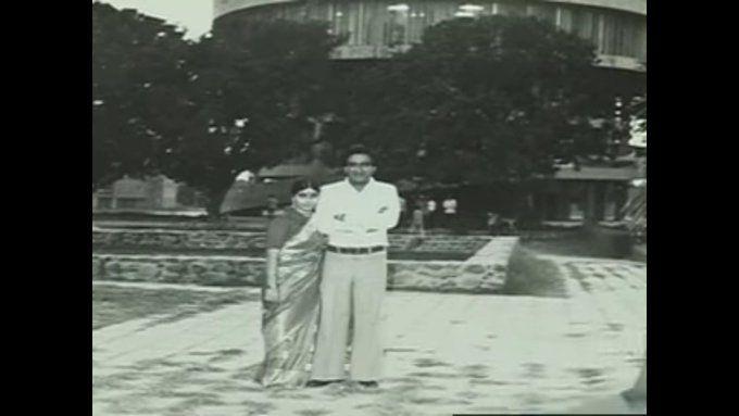 Swaraj Kaushal old Photo