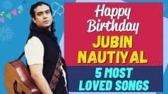 Jubin Nautiyal Birthday Special   5 Most Loved Songs of the Jubin