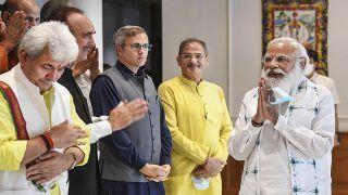 PM Modi-J&K Leaders Meet Concludes, Centre Assures Help For Future, Betterment of UT   Top Developments
