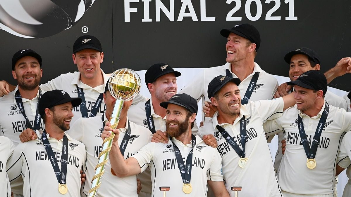 New Zealand crowned World Test Champions after Kane Williamson, Kyle Jamieson, Tim Southee heroics vs India©ICC-Twitter