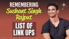 Remembering Sushant Singh Rajput   List of Actresses Who Stole His Heart