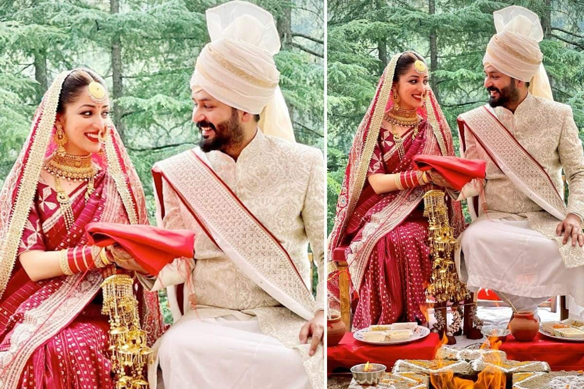 Yami Gautam Ties Knot With Uri Director Aditya Dhar In An Intimate Wedding Ceremony