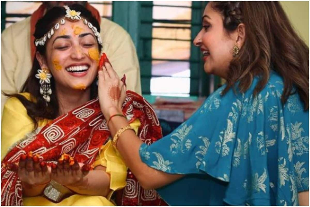 Yami Gautam Shines Bright In Her Haldi Ceremony, Shares First Pic of the Ceremony
