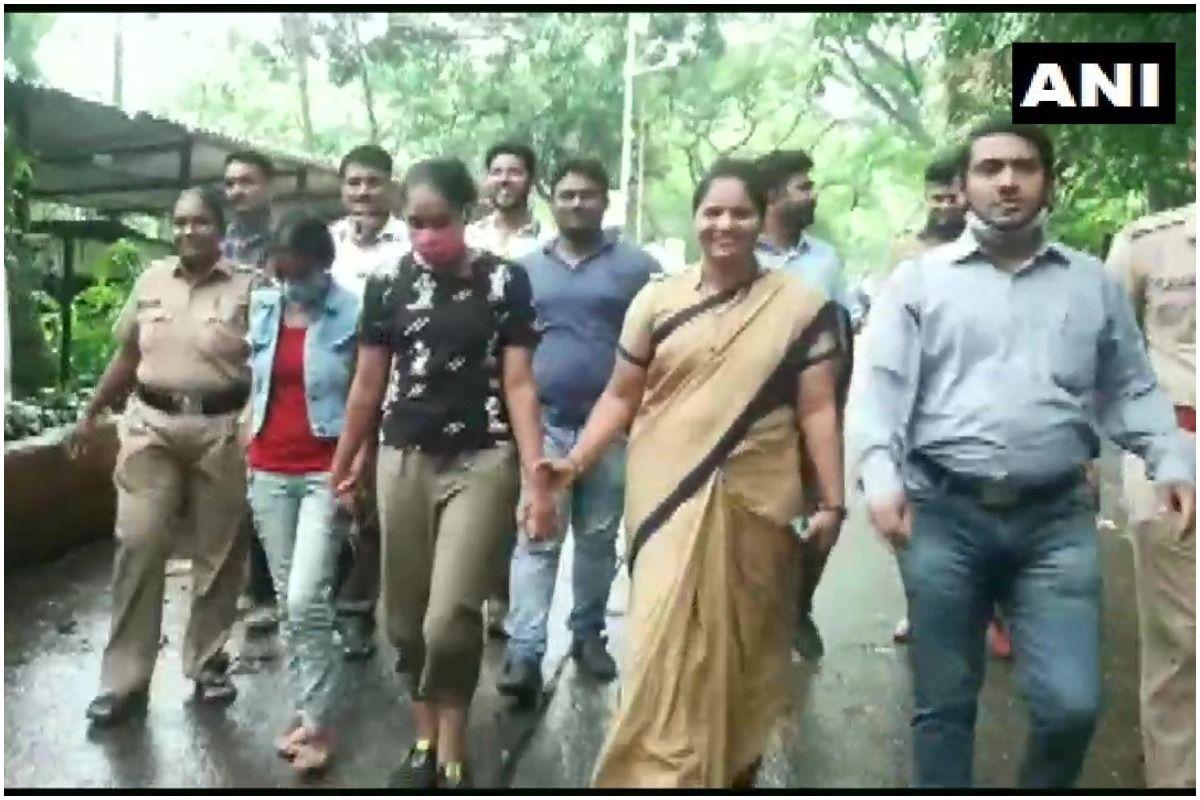 Crime Patrol  Savdhaan India actresses arrested