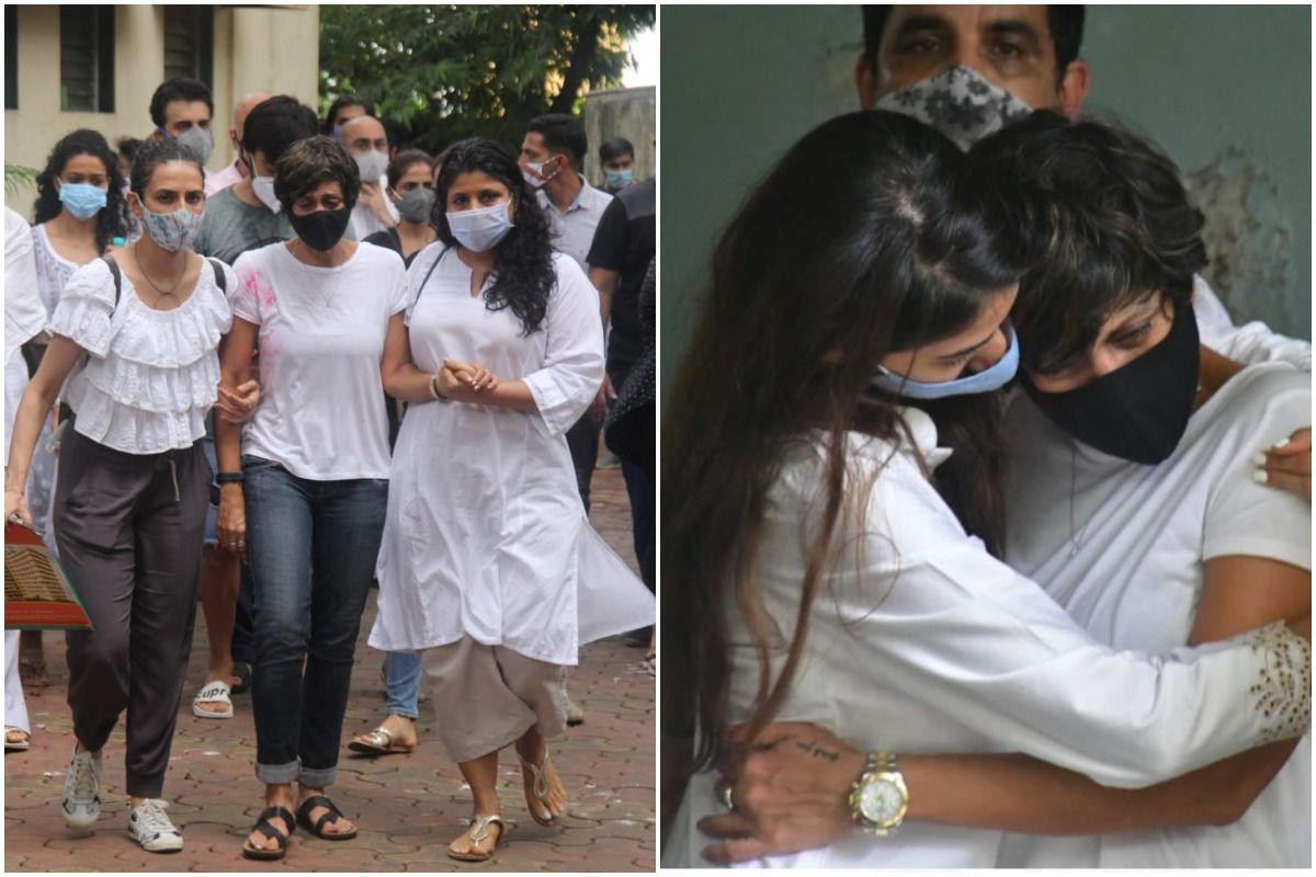 Mandira Bedi Breaks Gender Stereotype at Her Husband Raj Kaushal's Funeral, Carries The Bier