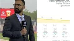 WTC Final: Dinesh Karthik Provides Southampton Weather Update For Day 3