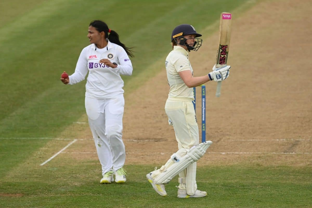 Day 2 Highlights India Women vs England Women One-Off Test: India 187/5 At Stumps After Remarkable Batting Co - India.com thumbnail
