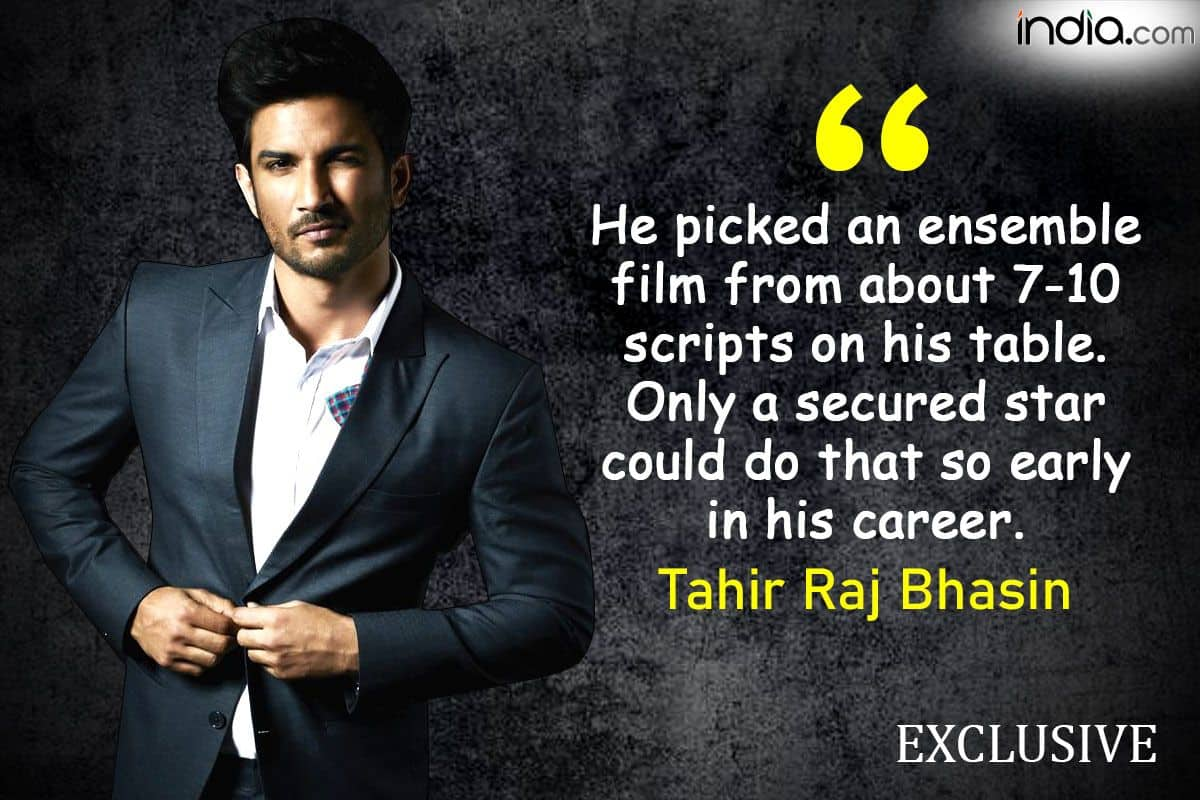 Sushant Singh Rajput Would Break Into Shah Rukh Mode in a Snap: Tahir Raj Bhasin   Exclusive