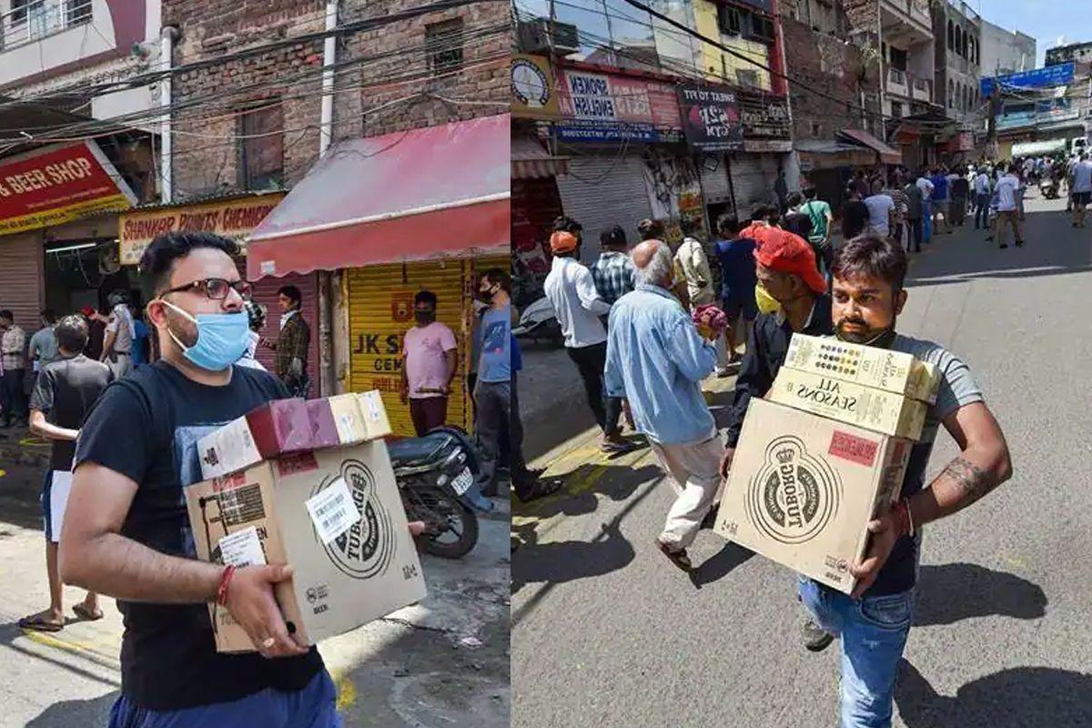 Delhi Liquor Shop Opening News