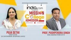 Mission College Admission: Step Towards Making Admissions Trouble-Free | Puja Sethi In Conversation With Prof. Pushpendra Singh, IIIT-D