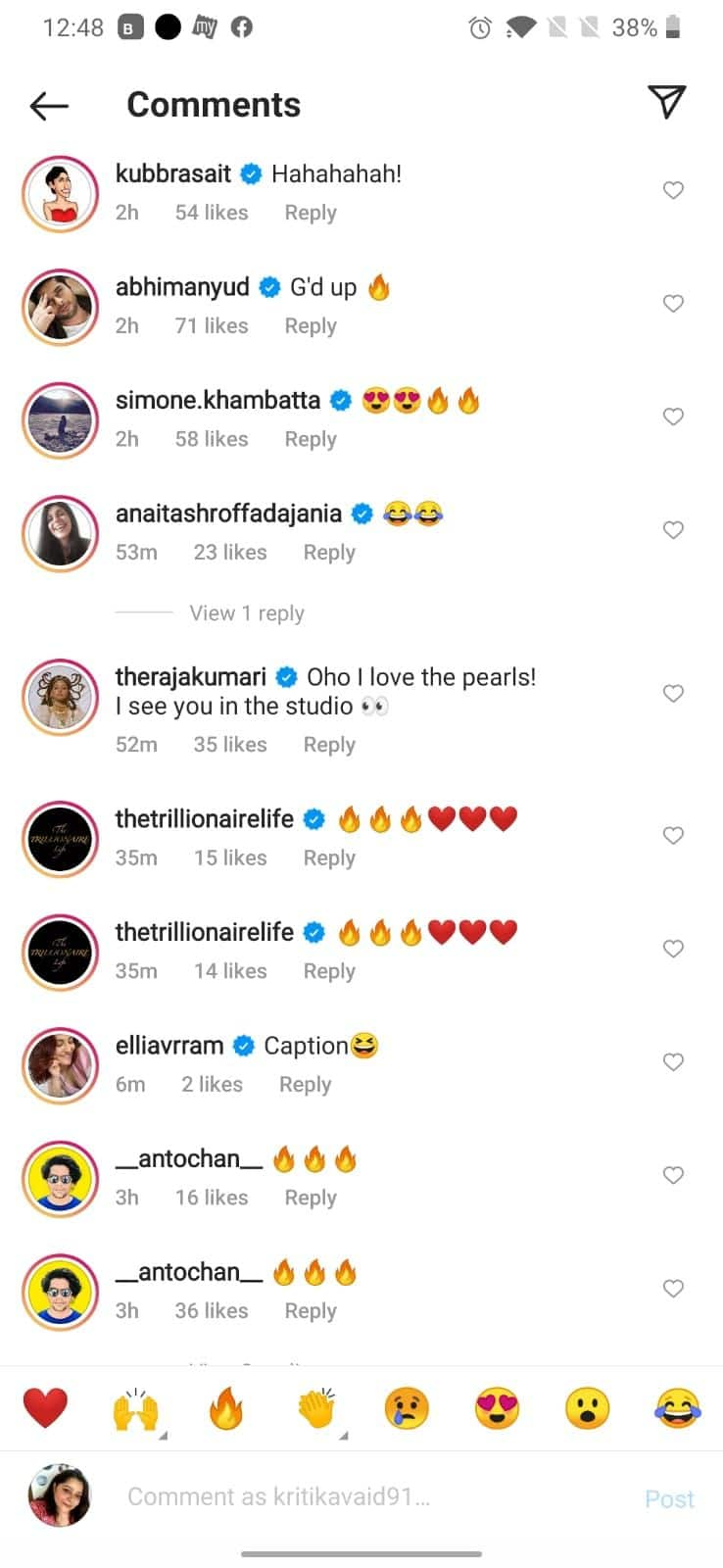 Ranveer gets comments