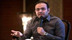 He May no Longer Get a Chance in ODIs: Virender Sehwag