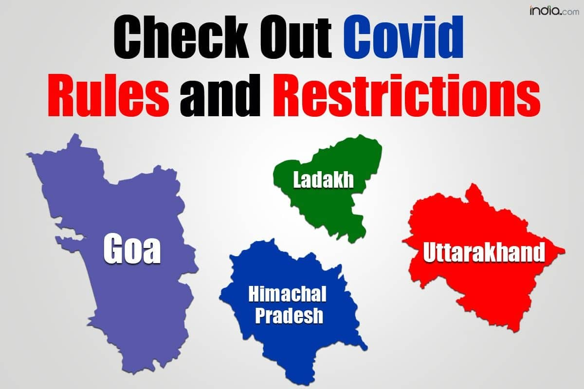 Check Covid Rules and Restrictions For Goa, Ladakh, Corbett, Dharamshala And 7 Other Tourist Places