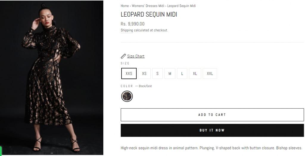 Karisma Kapoor Looks Splendid in This Rs 9,990 Animal Print Sequin Dress
