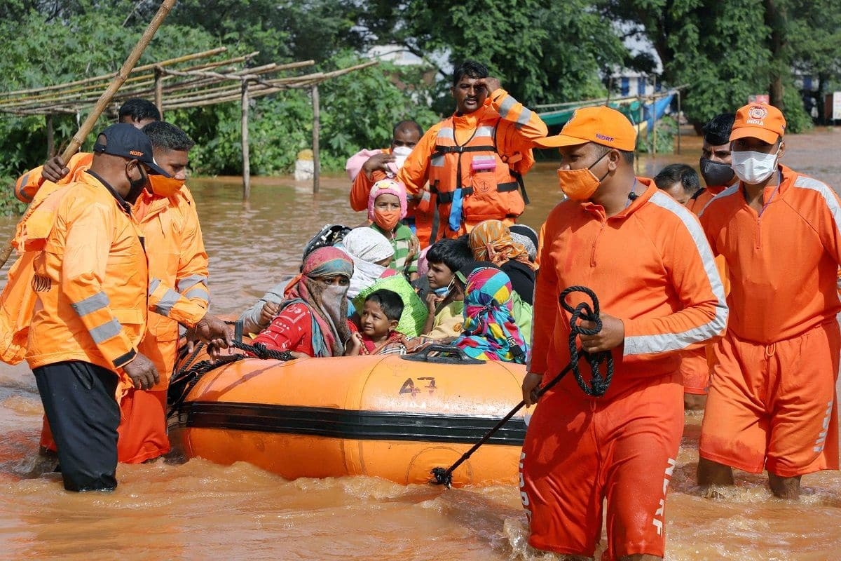 NDRF teams deployed for relief work in Maharashtra