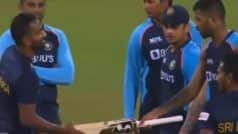 SL vs IND: Chamika Karunaratne Receives Special Gift From His 'Role Model' Hardik Pandya on T20I Debut | WATCH