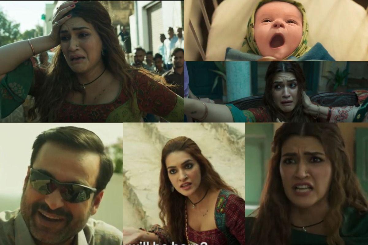 Mimi Trailer Out Kriti Sanon Pankaj Tripathi