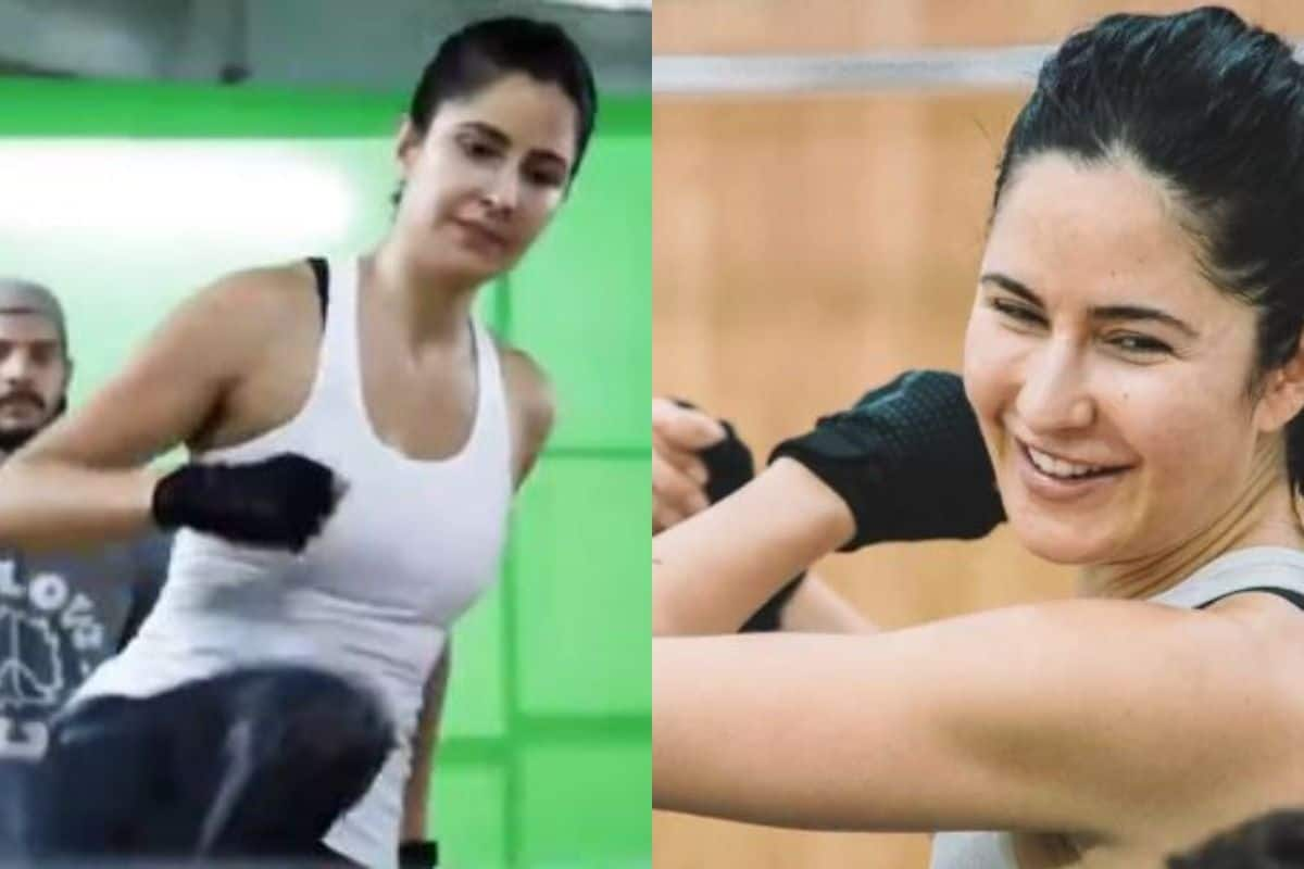 Katrina Kaif's Intense Training For Salman Khan Starrer Tiger 3's Stunning Action Sequences Is Impressive   Watch
