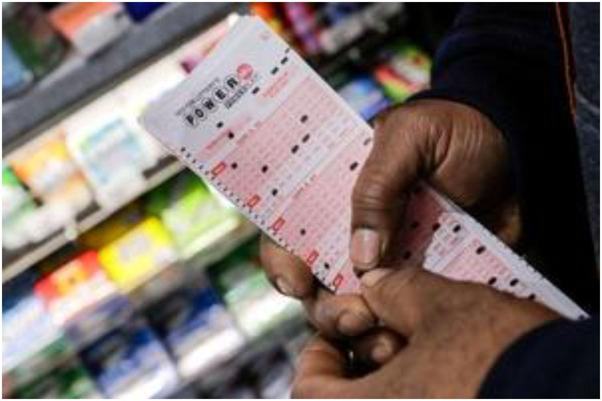 Three billion lottery ticket in purse