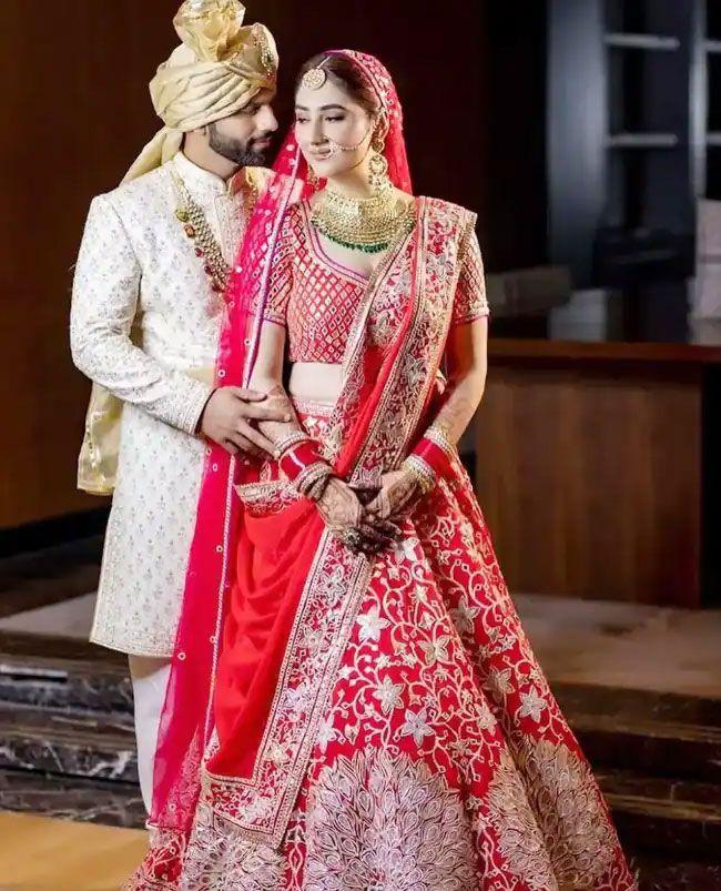 Rahul Vaidya Disha Parmar Wedding Pics