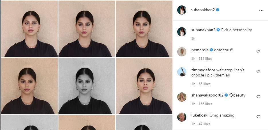 Netizens Go Gaga Over Suhana Khan's photo collage