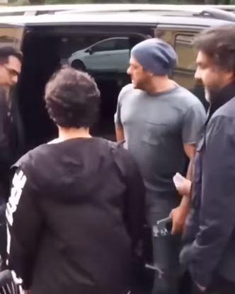 Salman Khan spotted with nephew Nirvaan