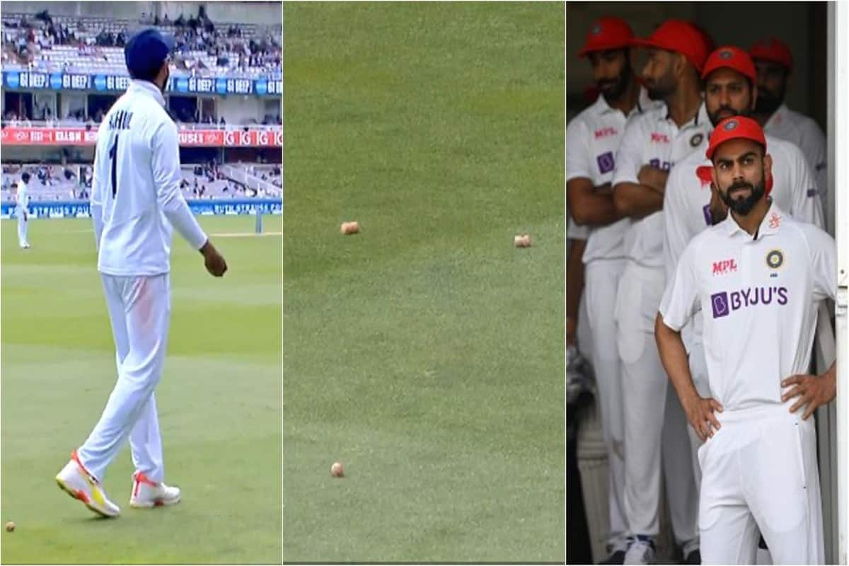 VIDEO: England Fans Throw Champagne Corks at KL Rahul 2nd Test; Virat Kohli  Asks India Opener to Throw Back | Indiacom cricket | IND vs ENG 2nd Test