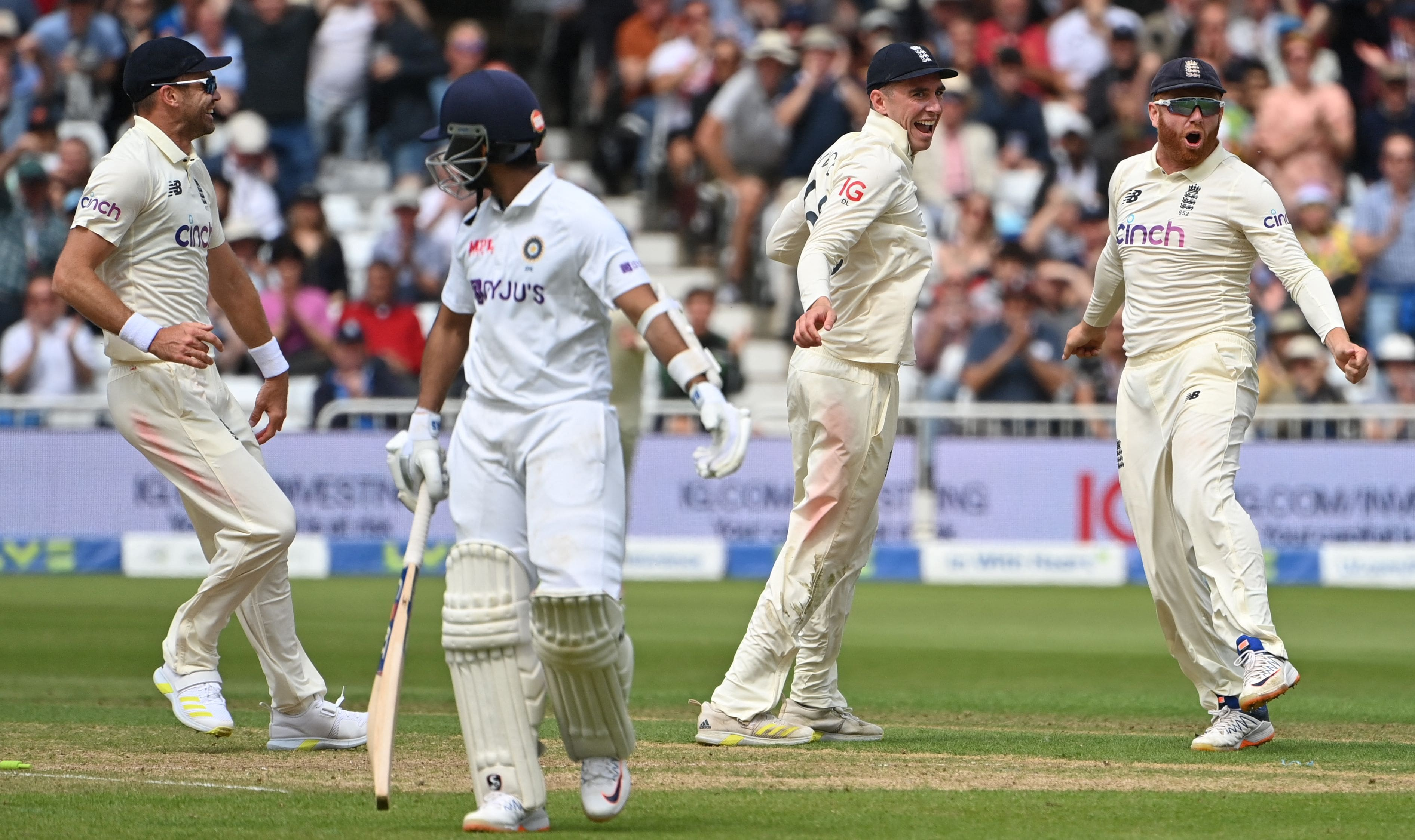 James Anderson Shines For England on Rain-Hit Day