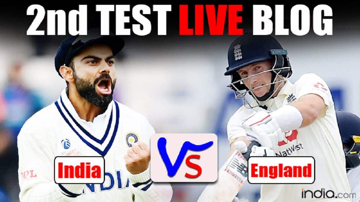 LIVE Score India vs England 2nd Test Day 4 Today's Match Updates From Lord's: Pujara, Rahane Stand Take India Forward After Tea