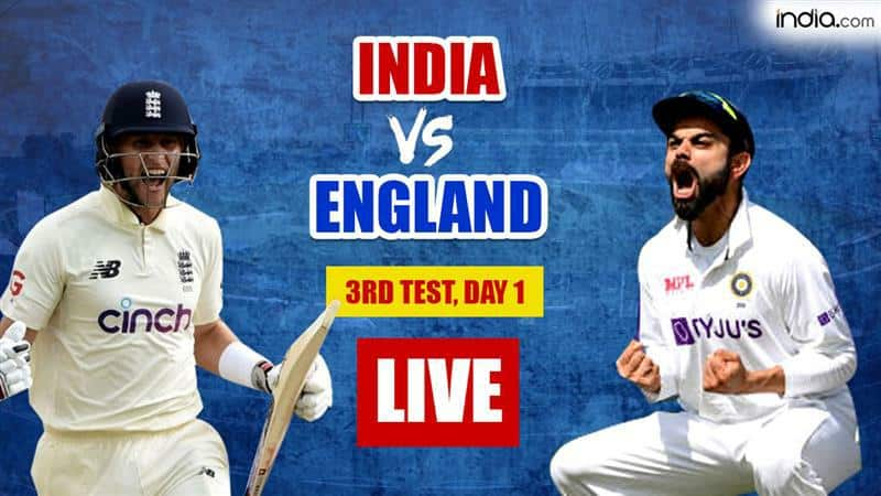 HIGHLIGHTS 3rd Test: Hameed, Burns Put Hosts in Lead; England 120/0 vs India at Stumps on Day 1