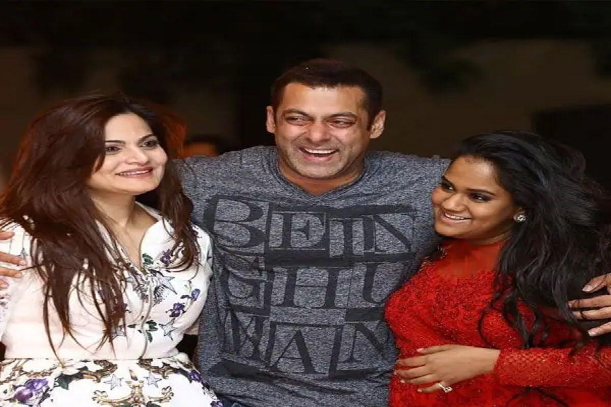 Salman Khan With Sisters