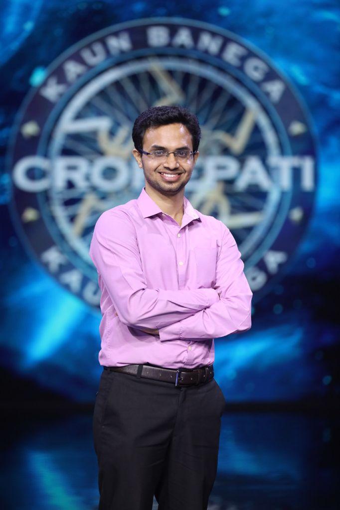 KBC 13 Contestant Ashish Suvarna (Photo credit: Sony TV)