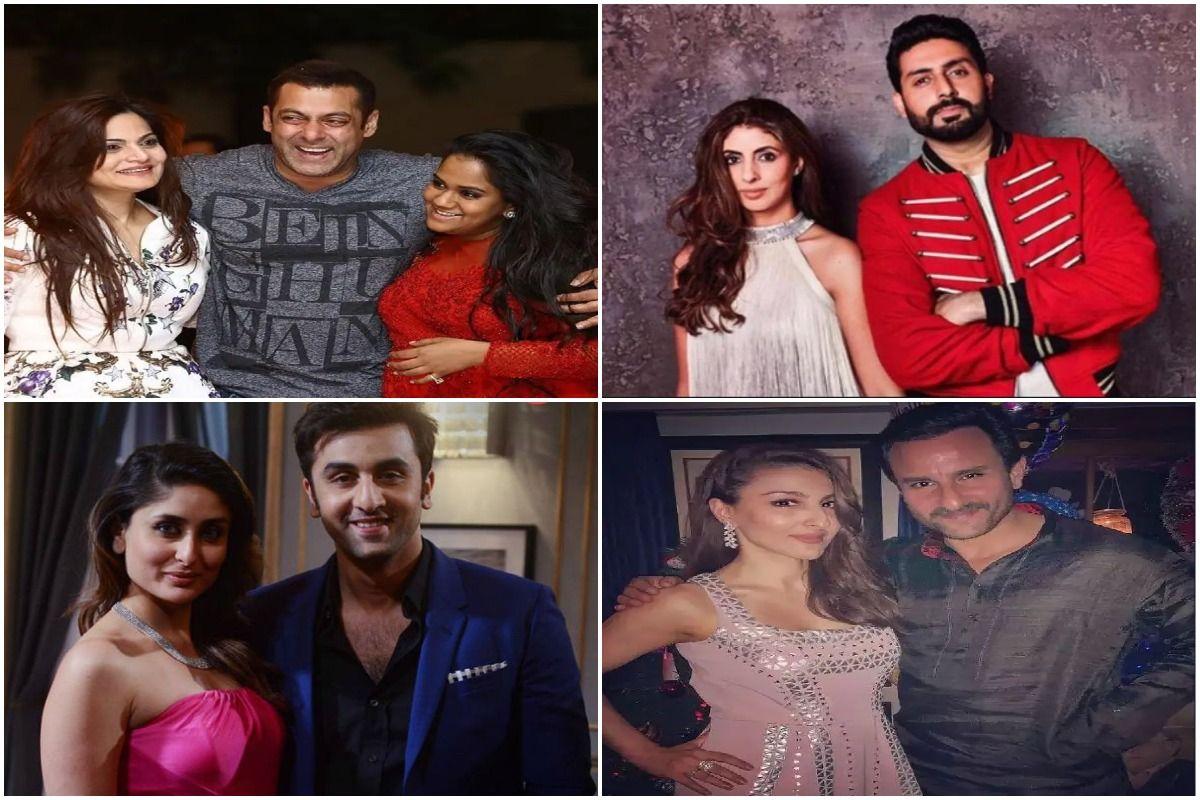Bollywood real life brother and sister jodis